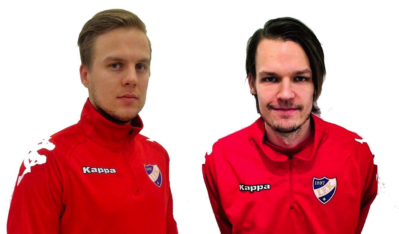 Jani Bäckman ja Joni Korhonen HIFK:n riveihin