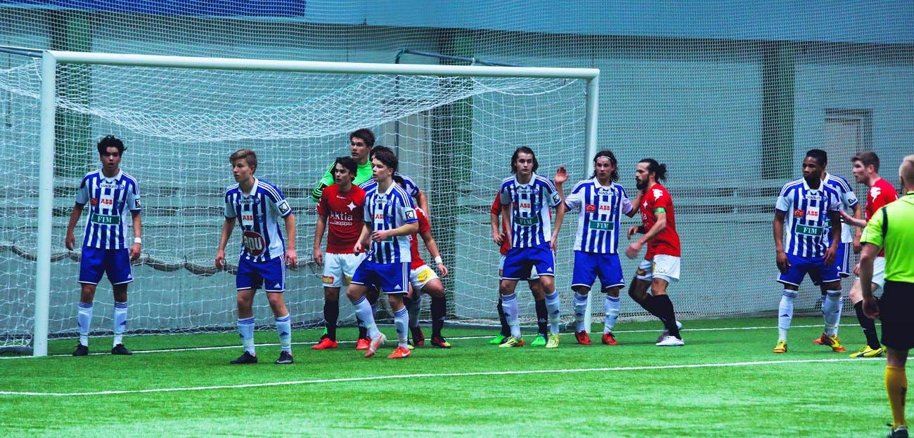 Liigacup välierä | Lauantai 13.3 klo 14:00 | HJK - HIFK 2-0 (0-0) | Talin jalkapallohalli Kuva: Edward Hultin