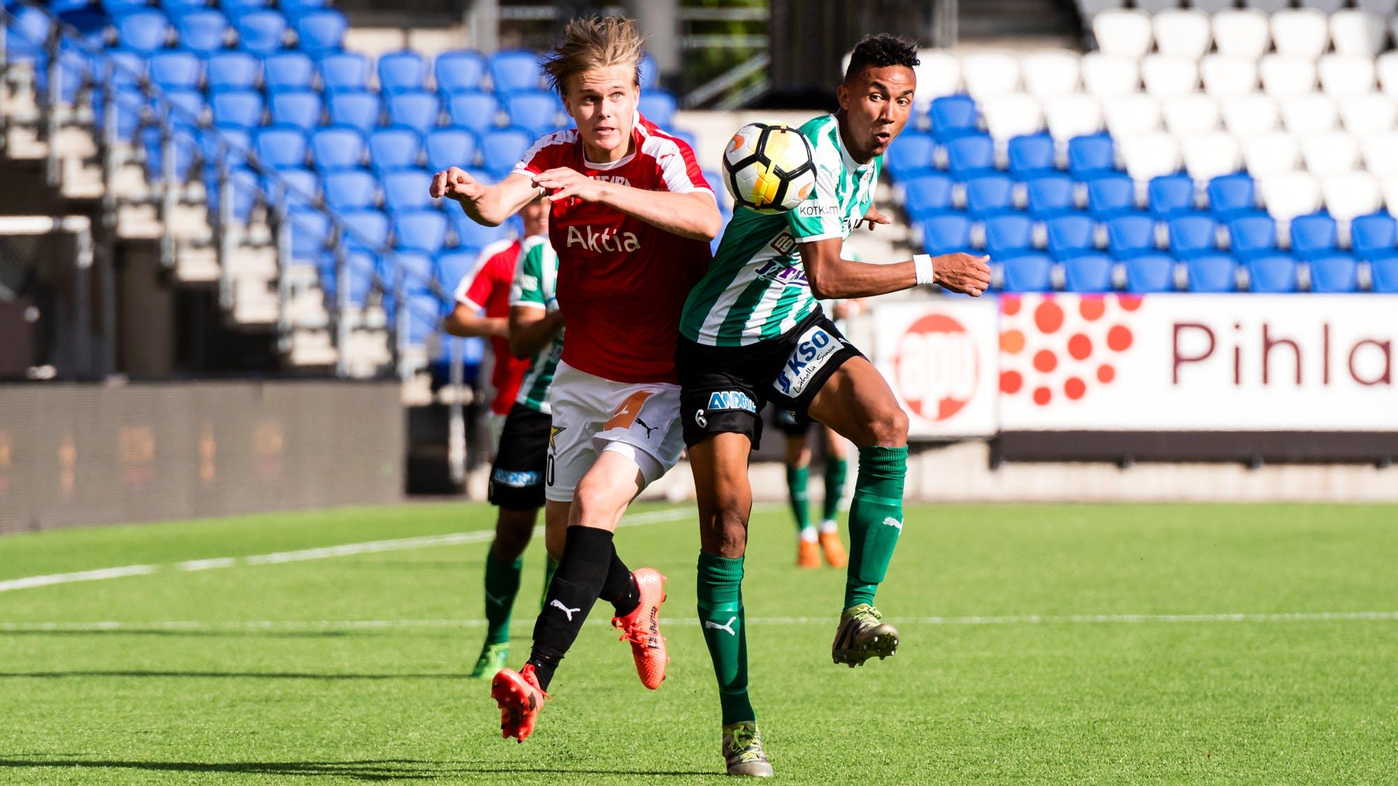 Otteluraportti: HIFK – FC KTP 1-1 (1-1)