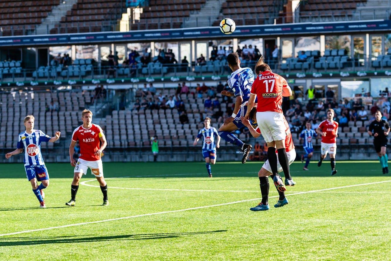 Otteluraportti: Klubi 04 – HIFK 1-3 (0-1)
