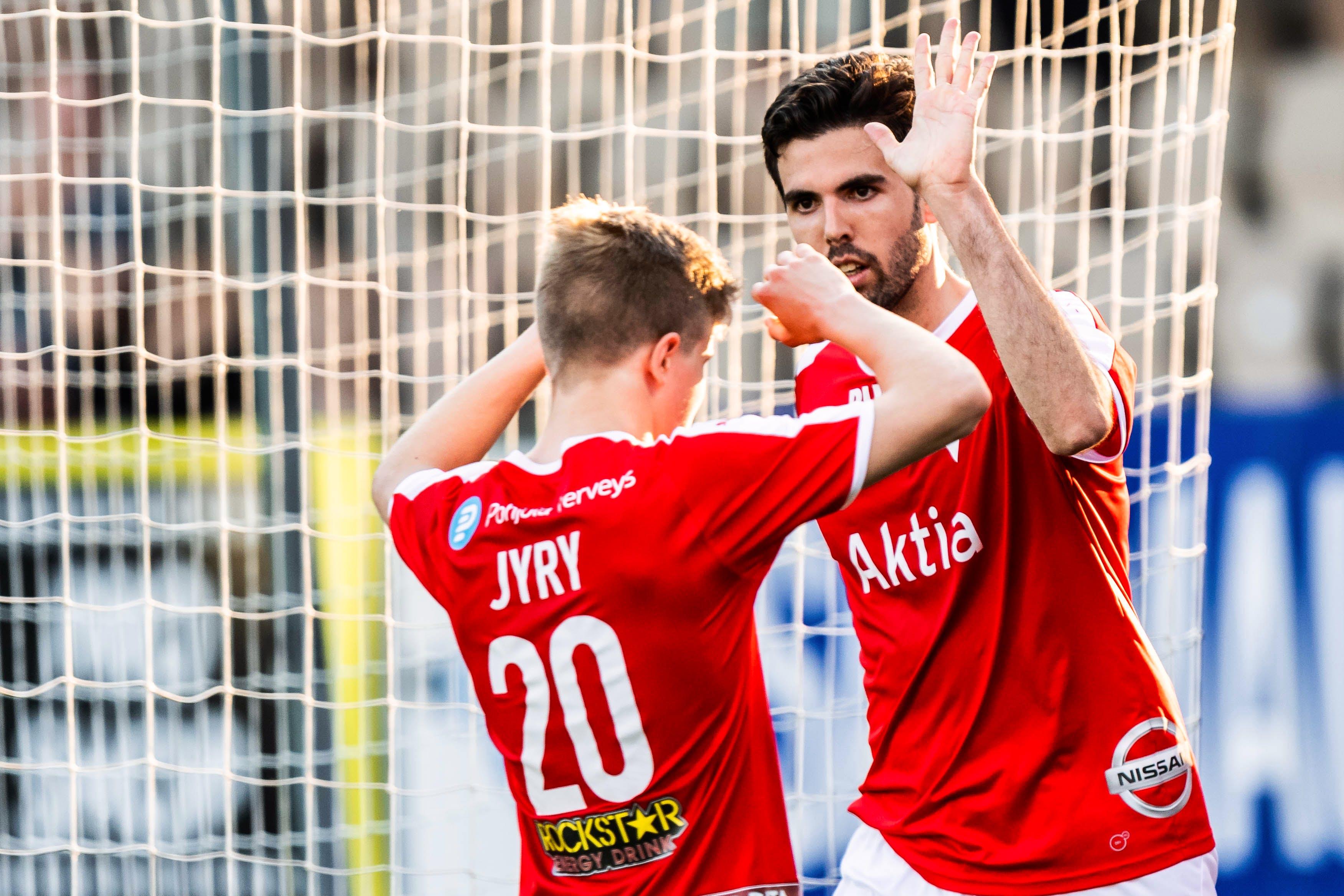 Otteluraportti: KPV – HIFK 2-2 (1-0)