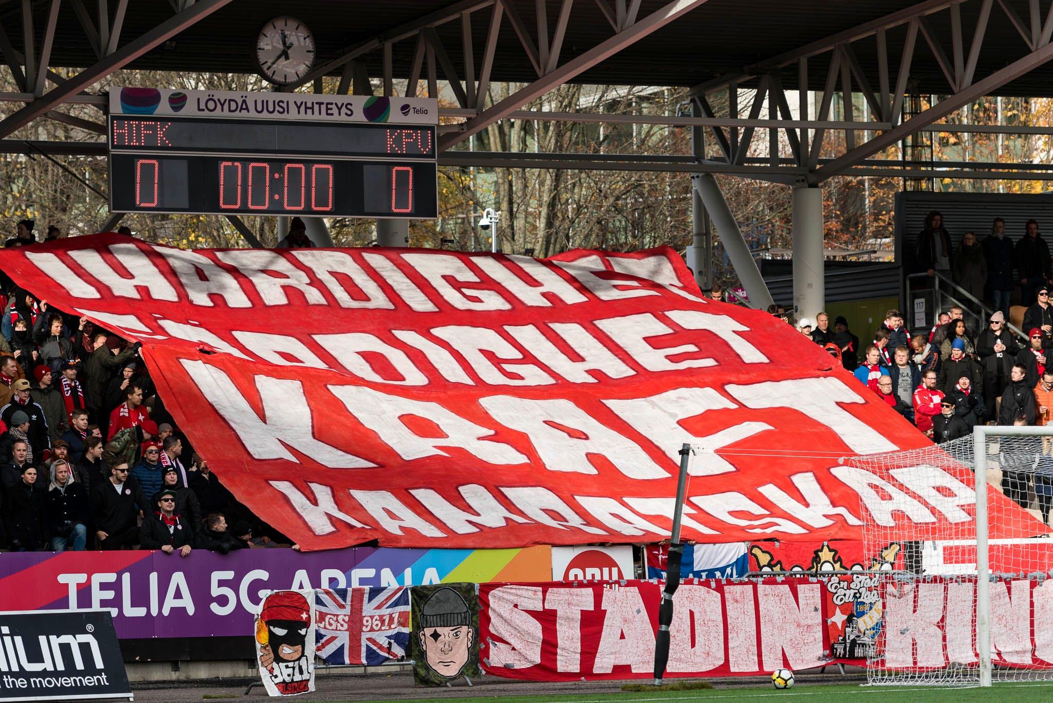 Den pågående veckan har HIFK Fotbolls nyheter och uppdateringar i sina  sociala medier uppdaterats endast på svenska. 48c51bec5406a
