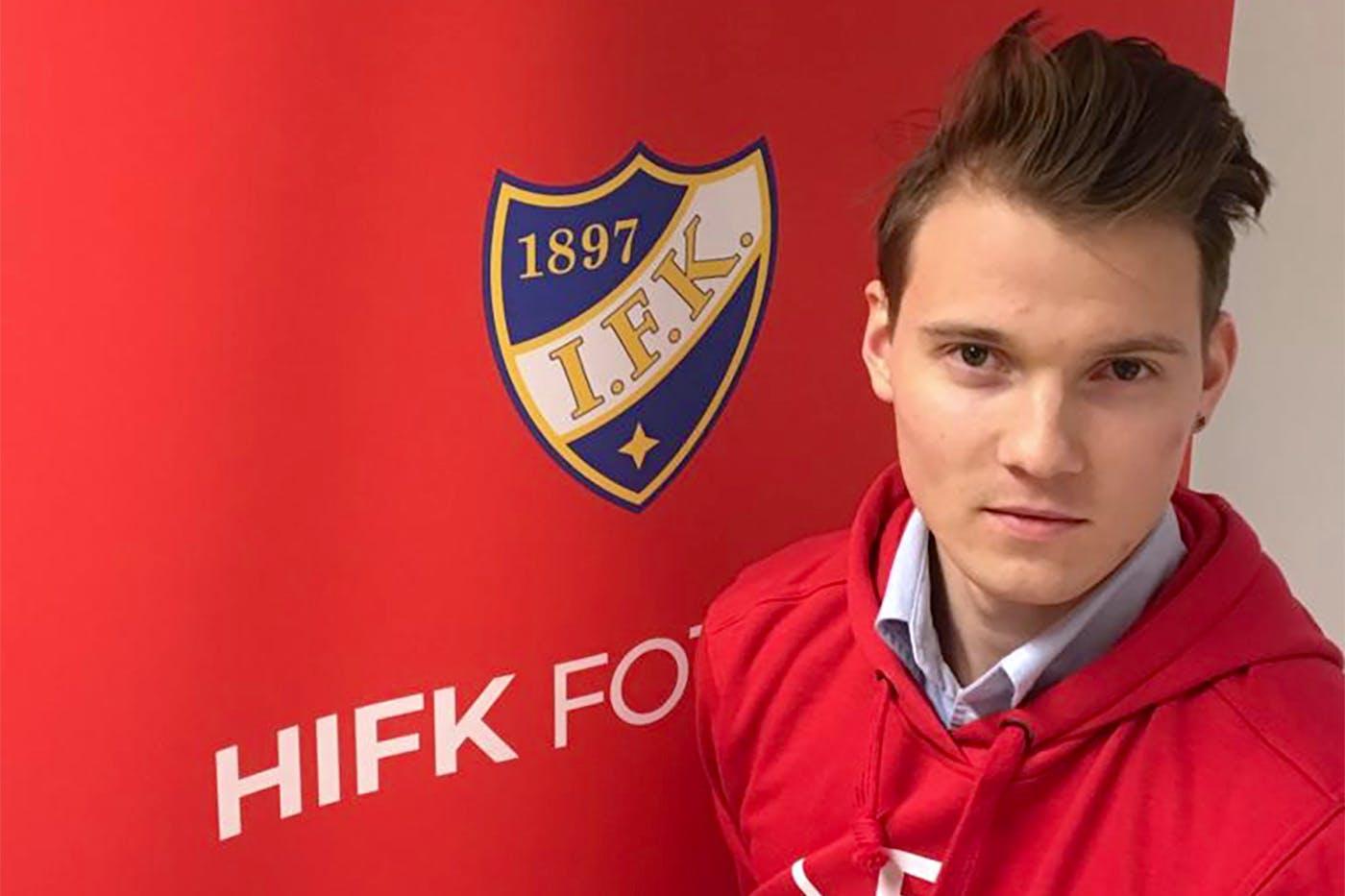 Samuel Haglund HIFK:hon