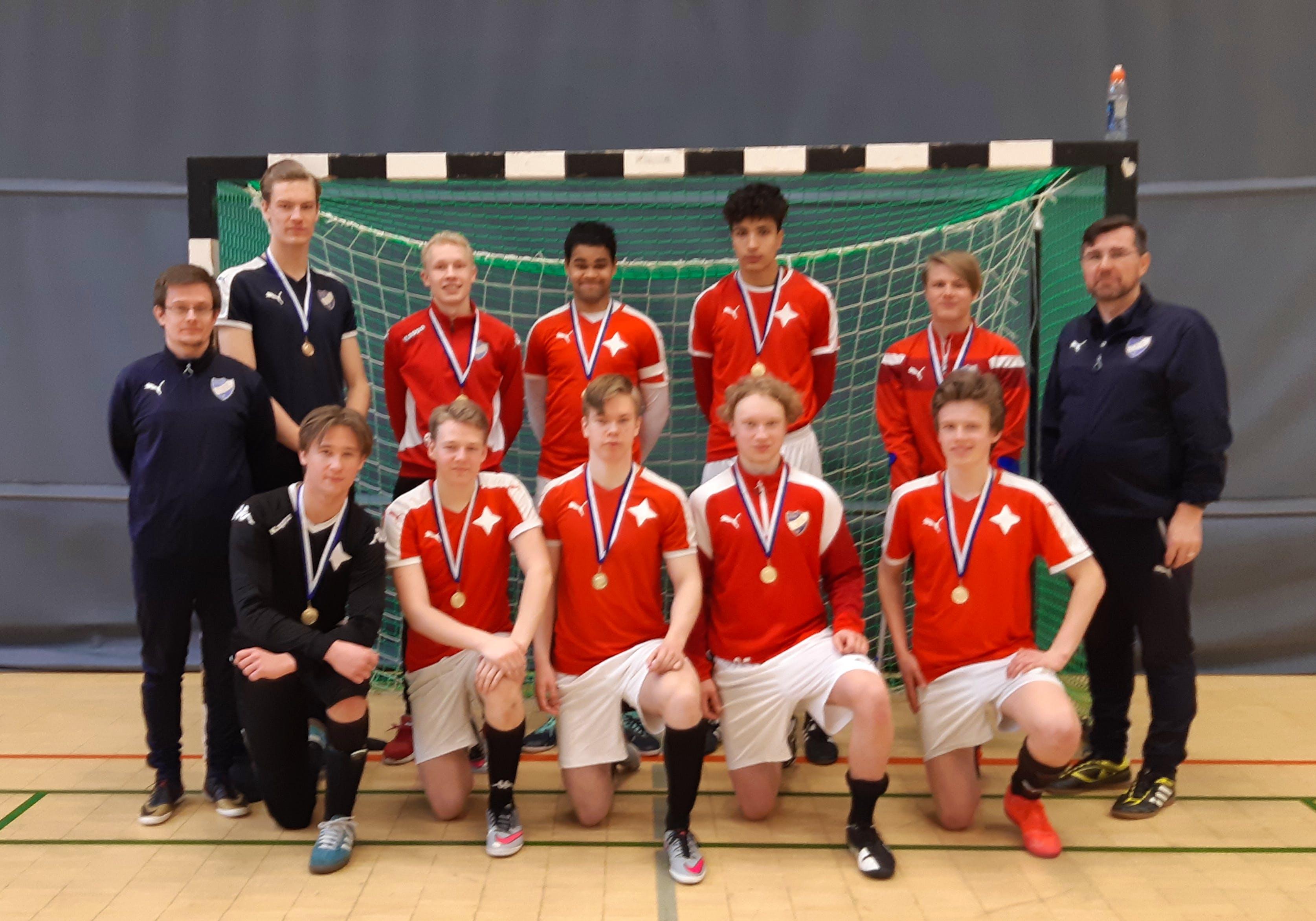 HIFK P20 mästare i Hfors-Nyland regionalserien i futsal