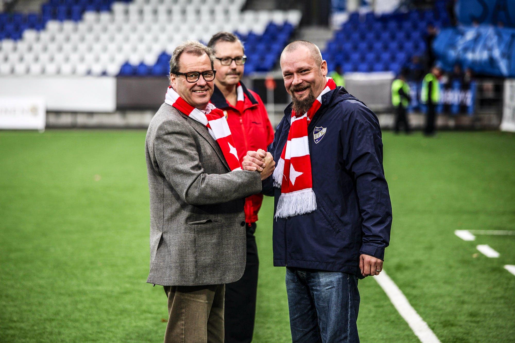 HIFK:n Respect-palkinto joukkueen pitkäaikaiselle lääkärille