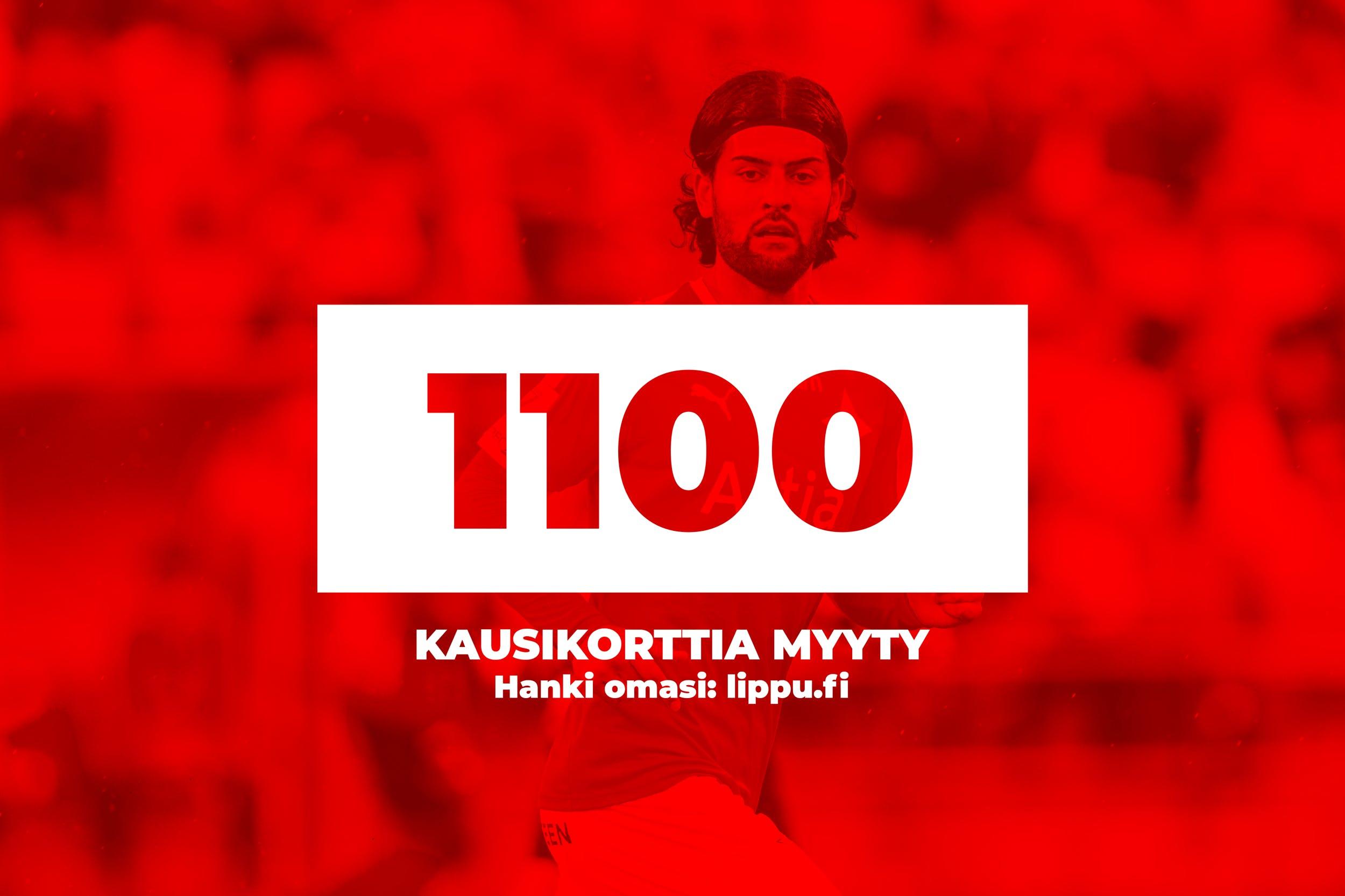 HIFK sålt 1100 säsongskort på rekordtid – snart hälften av Östra läktarens utmaning uppnådd